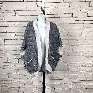Soft Surrounding Cardigan Sweater Batwing 1959